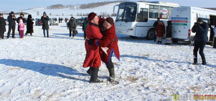 Зимние национальные игры на свежем воздухе «Шакай уйындары».